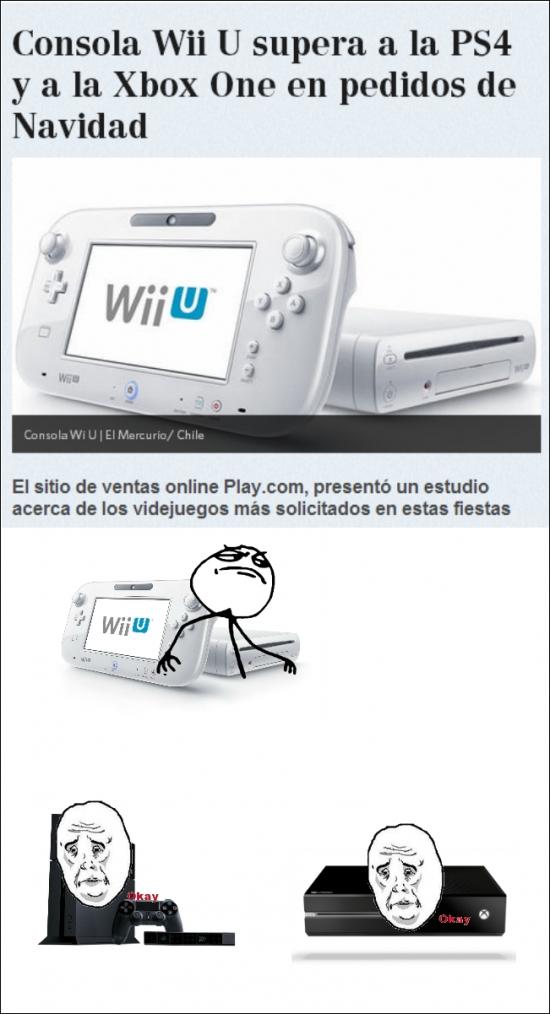 Fuck_yea - Todos insultan a la Wii U pero ella toma más delantera