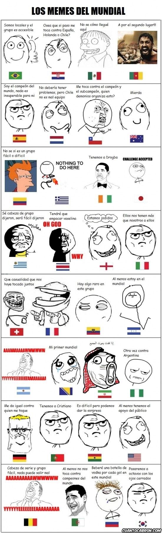 Mix - Memes para el mundial