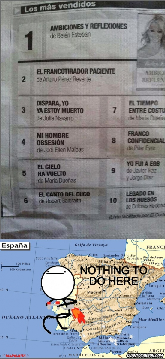 Nothing_to_do_here - El best seller de España