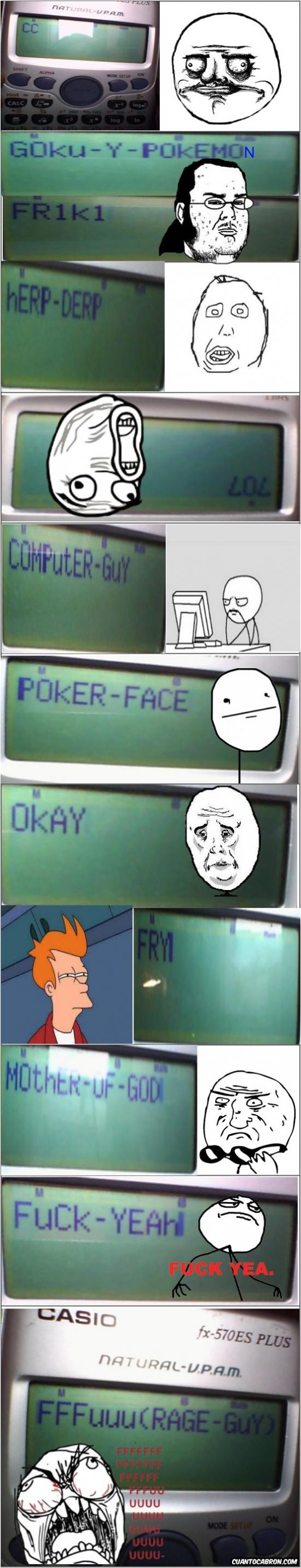 Mix - Los memes en las calculadoras