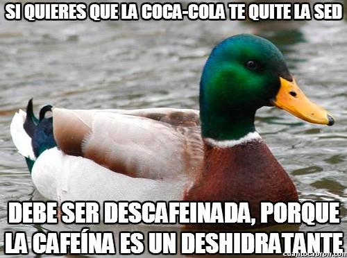 Pato_consejero - También podrías beber agua