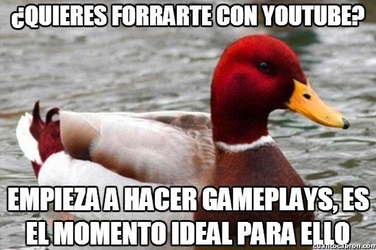 Pato_mal_consejero - Youtube y sus políticas