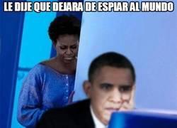 Enlace a Obama y su espionaje