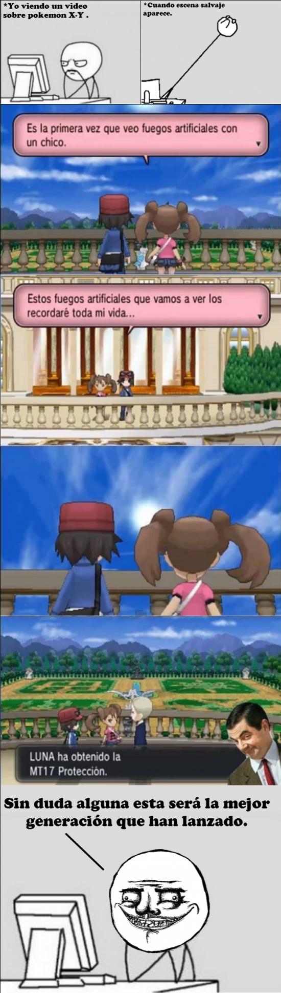 Me_gusta - Una razón más para jugar Pokémon X y Y
