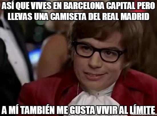 austin powers,barcelona,fútbol,no te pasará nada,real madrid