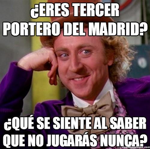 Wonka - El tercer portero del Madrid