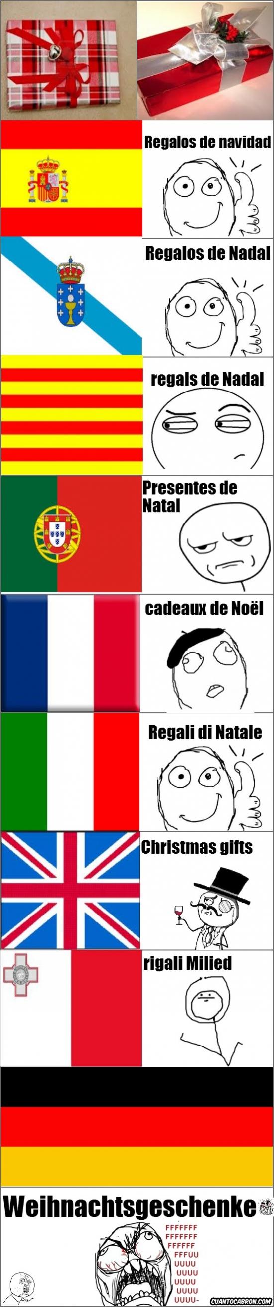 Ffffuuuuuuuuuu - Los alemanes y su idioma siempre dándoles problemas