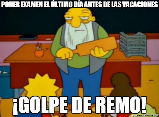 Golpe_de_remo - Aún así habrá profes que seguirán haciéndolo...