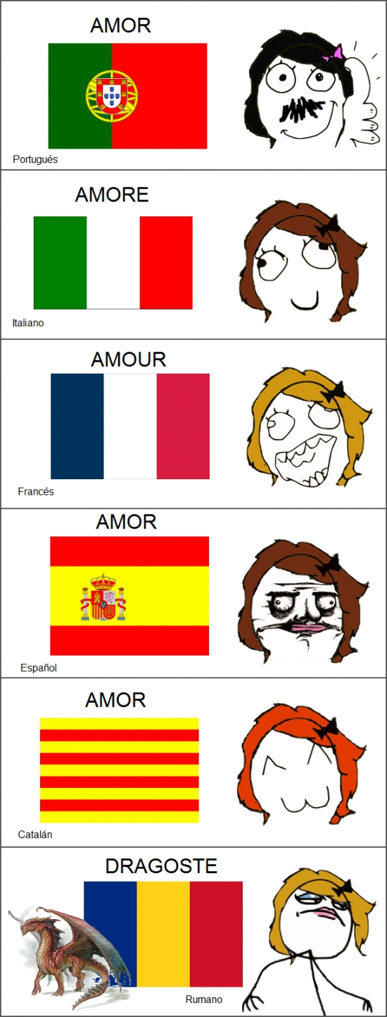 Mix - Amor en lenguas romances