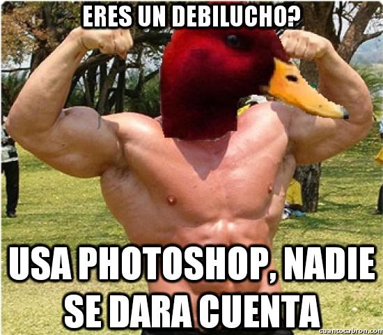 Pato_mal_consejero - Los maestros del Photoshop saben a lo que me refiero