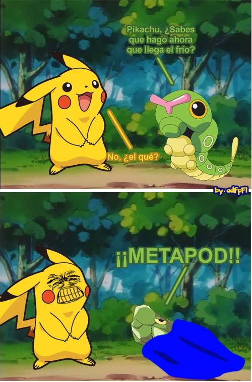 Caterpie,chistaco,Metapod,Pikachu,Pokémon