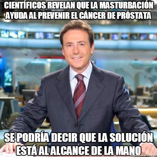 Meme_matias - La solución contra el cáncer de próstata