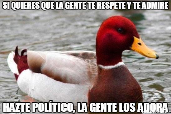 Pato_mal_consejero - El mejor sistema para conseguir respeto