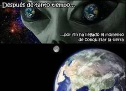 Enlace a La invasión alienígena es inminente