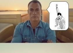Enlace a Chúpate esa, Van Damme
