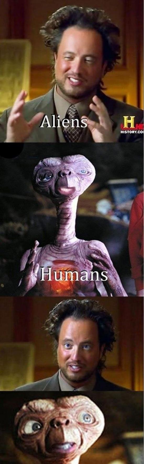 Ancient_aliens - El día que se encuentre con un alien de verdad ya verás...