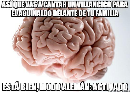 Cerebro_troll - El cerebro trolleando hasta con la música