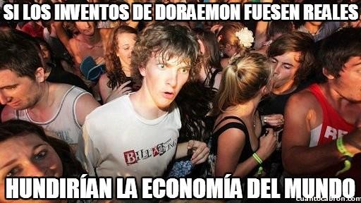 Momento_lucidez - No sé si sería buena idea que los inventos de Doraemon fuesen reales