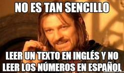 Enlace a My name is Boromir and I'm treinta y dos years old
