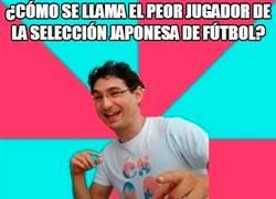 Enlace a El peor jugador japonés de fútbol