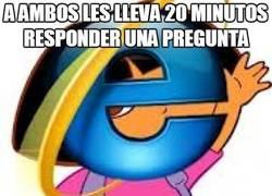 Enlace a La conexión entre Internet explorer y Dora