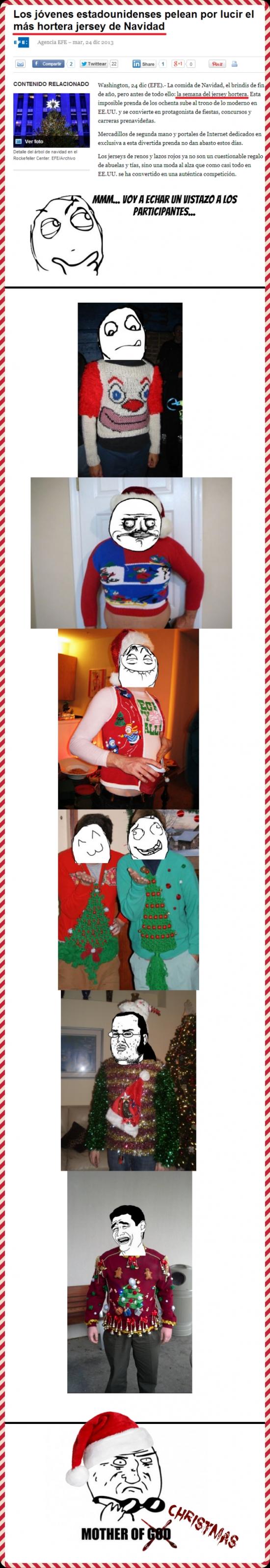 Mother_of_god - [Tema de la semana] Modas navideñas cada vez más estúpidas entre los estadounidenses