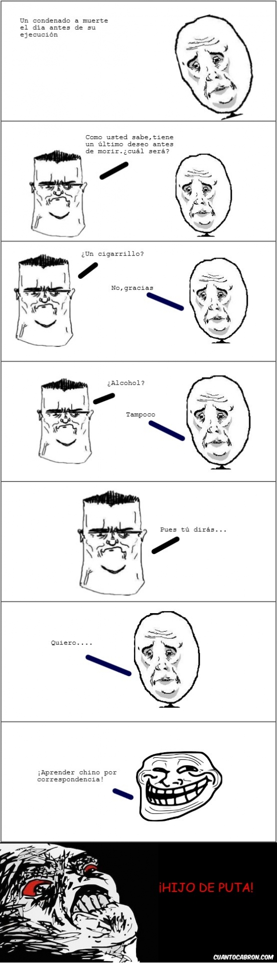 Trollface - Su último deseo