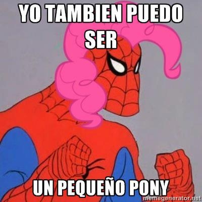 Spiderman60s - Todos tienen derecho a ser ponys