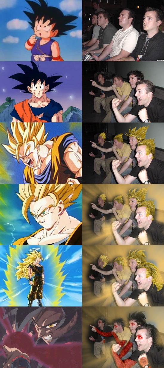Otros - Los reaction guys son fans de Dragon Ball