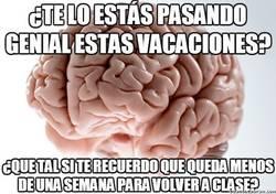Enlace a El cerebro siempre trae los peores recuerdos