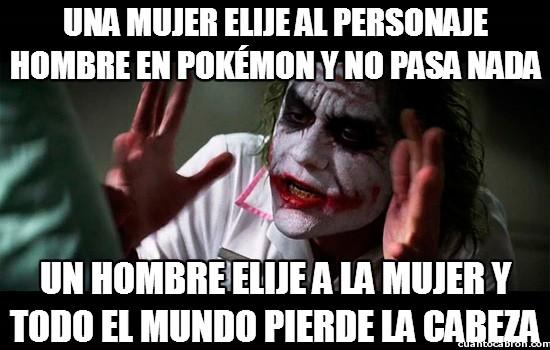 Joker - El dilema de los personajes en Pokémon