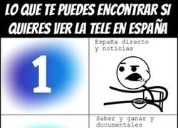 Enlace a Así está la tele hoy en día en España