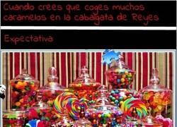Enlace a ¡Este año sí que he cogido muchos caramelos!
