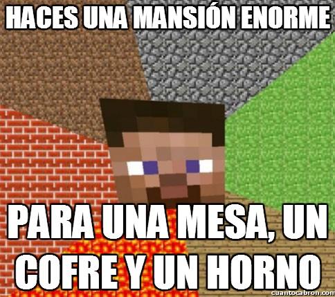 Minecraft - ¿Para qué quieres tanta casa?