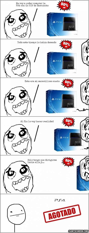 Pokerface - [Tema de la semana] Si la nueva PS4 está de descuento...