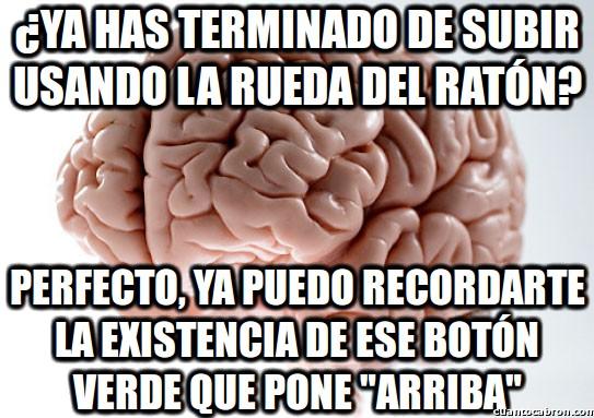 arriba,boton arriba,cc,cerebro,cerebro troll,rueda,usar