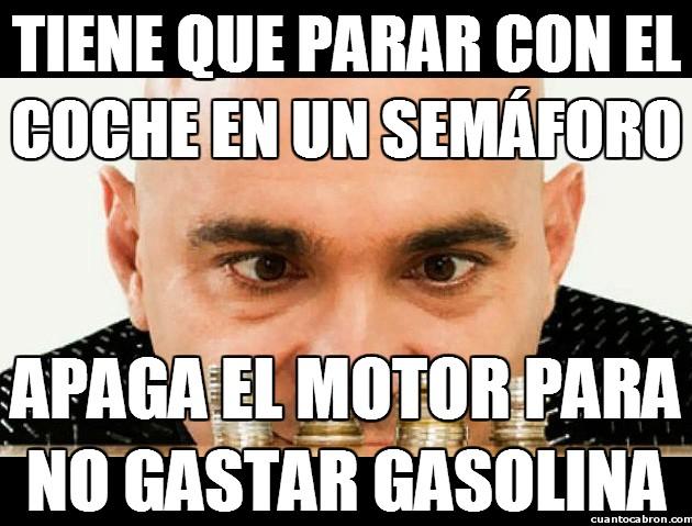 Colega_rata - Cuanto más dure la gasolina, menos dinero gasto