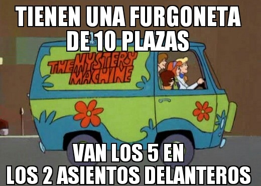 Meme_otros - Lógica de Scooby Doo