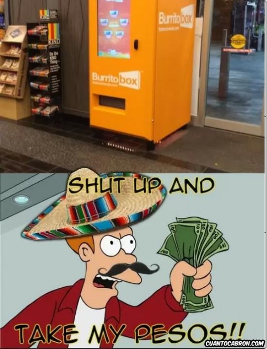 Fry - A los mexicanos les gusta esto