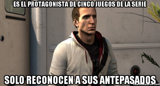 Meme_otros - El Bad Luck Brian de Assassin's Creed