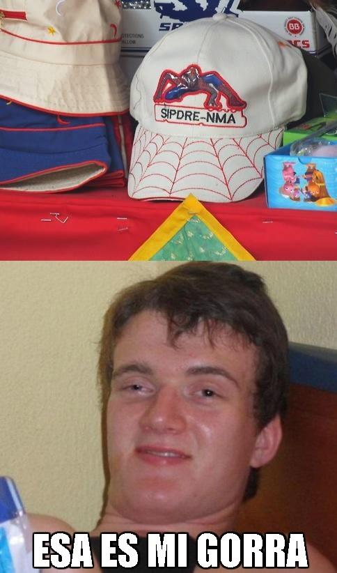 Colega_fumado - La gorra ideal para el colega fumado