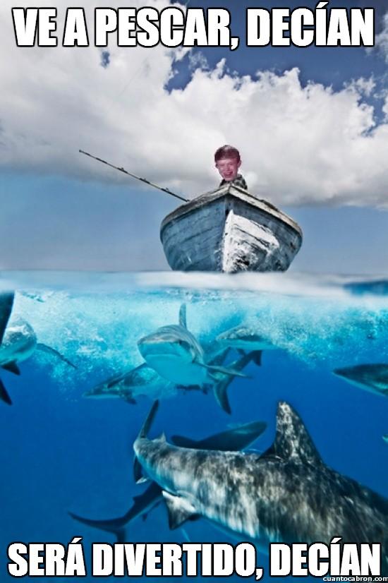 Bad_luck_brian - A Brian no se le da bien la pesca...