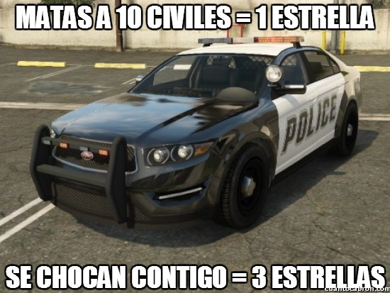 Meme_otros - La policía del GTA V