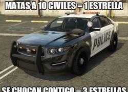 Enlace a La policía del GTA V