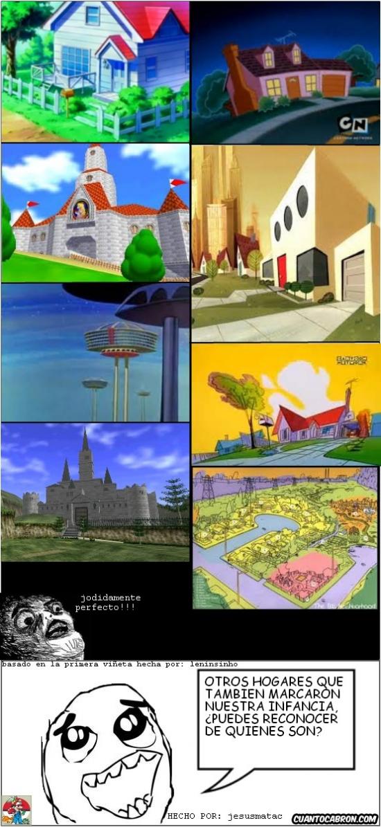 Otros - Las casas animadas que marcaron nuestra infancia, segunda parte