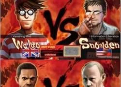 Enlace a ¿Cuál serías y contra quién lucharías?