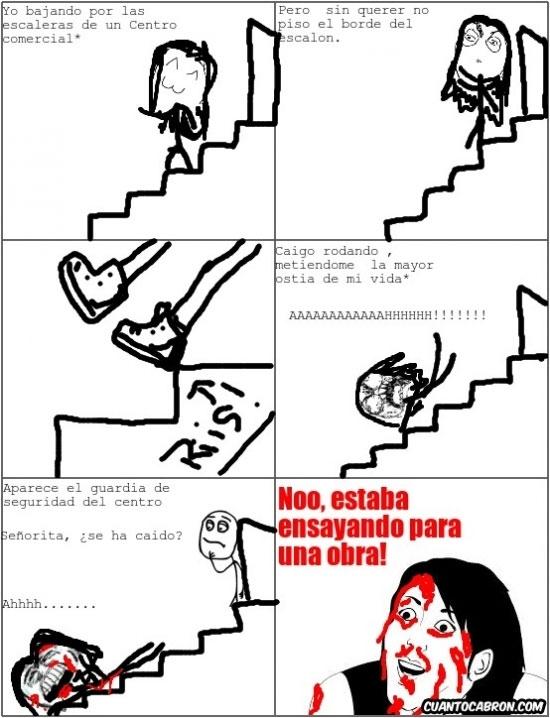 No_me_digas - Malditas escaleras y malditas preguntas tontas