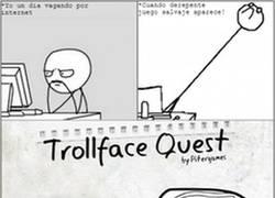 Enlace a Trollface Quest, ¿a que no lo conocías?