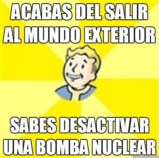 Meme_otros - Logica del Fallout 3