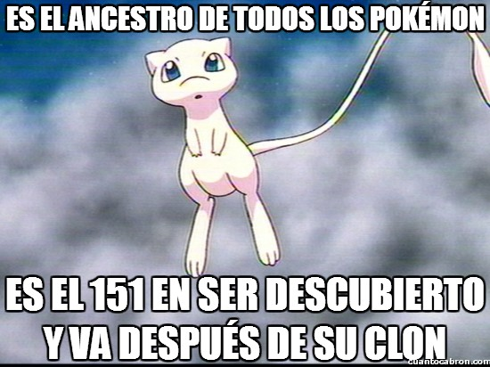 Meme_otros - El ancestro de todos los Pokémon
